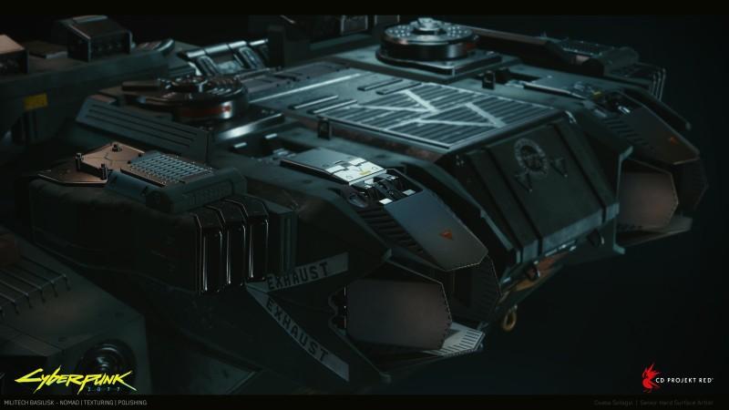 Новые рендеры Cyberpunk 2077