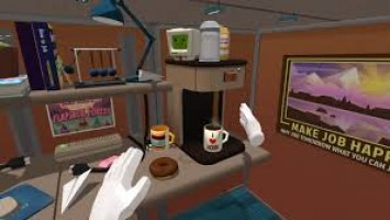 Забавный тизер Job Simulator для VR - Автомеханик