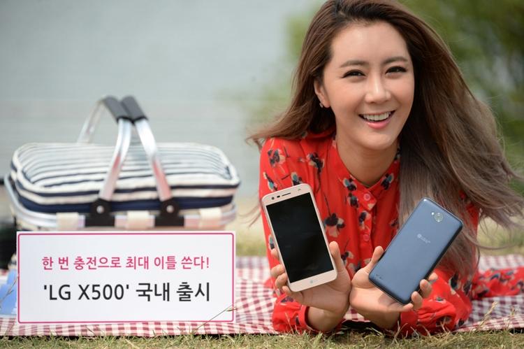 Представлен смартфон семким аккумуляторомLG X500