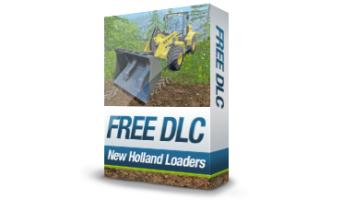 Бесплатное DLC - New Holland Loaders для Farming Simulator 15
