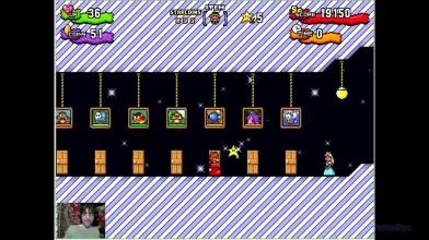 "Super Mario Bros. X - The Invasion 2 - mod ""Afternoon and night"" - 5. Пирамидки психики (прохождение на русском)"