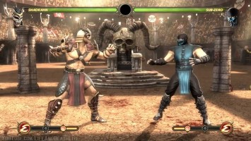Mortal Kombat 9 - Shao Kahn Challenge Tower 300 Intro All Characters-Costumes MOD