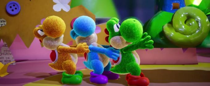 Yoshi's Crafted World - опубликована новая 10-минутная геймплейная демонстрация красочного платформера