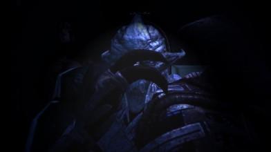 Mass Effect Saren looks - Saren is indignant (Сарен смотрит - Сарен возмущен)