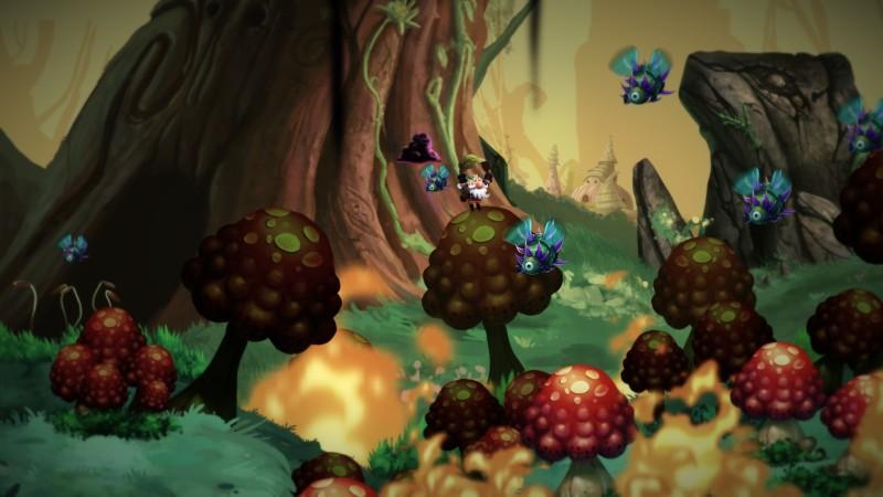 Steam раздает рисованный платформер Nubarron: The adventure of an unlucky gnome
