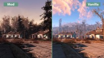 Сравнение Fallout 4 - Revived Mod Pack vs. Vanilla (Candyland)