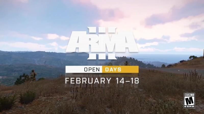 Arma 3 - Трейлер бесплатных выходных с 14 по 18 февраля в Steam
