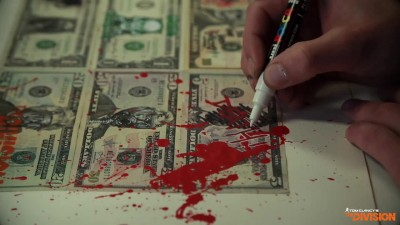 "Tom Clancy's The Division ""Dollar Artwork Timelapse"""