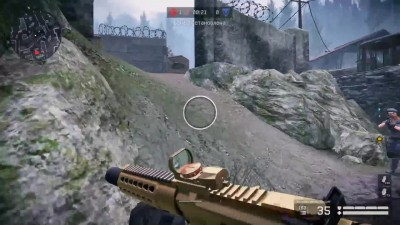 "WARFACE ""золотой honey badger"""