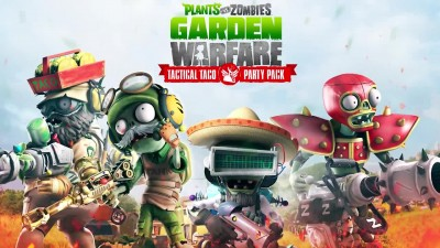 "Plants vs. Zombies: Garden Warfare ""Геймплей Tactical Taco Party Pack"""