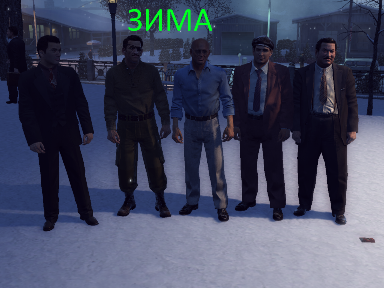 Mafia 2   обзор мода