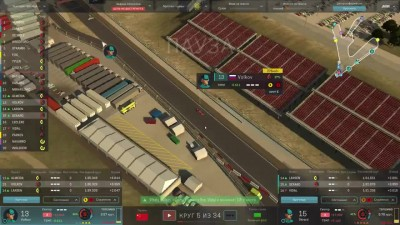 Motorsport Manager PC. Режим карьеры. 2 сезон, гонка 2
