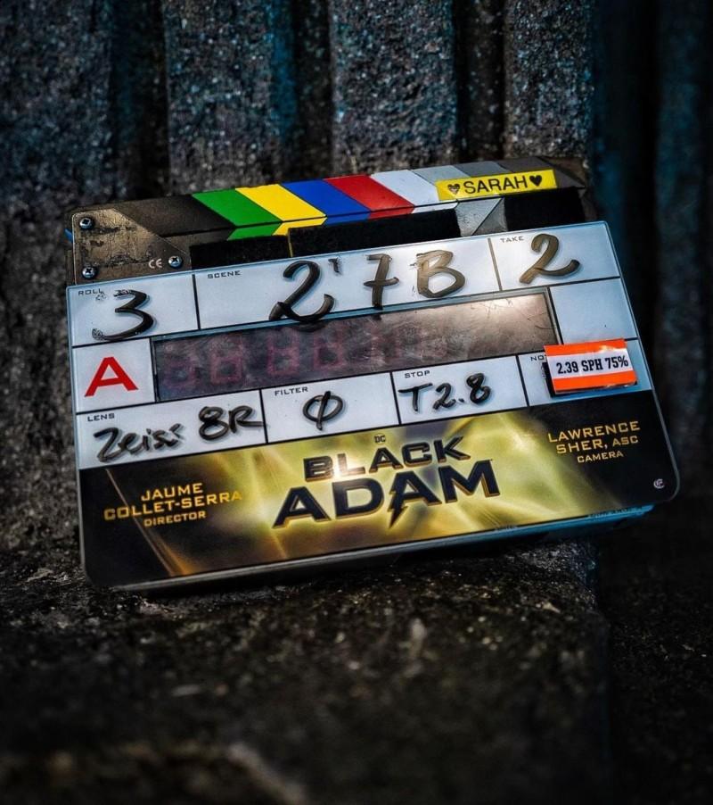 """Дуэйн Джонсон сообщил о старте съёмок """"Чёрного Адама"""""""