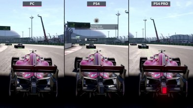 F1 2018 - Сравнение PC 4K MAX vs. PS4 vs. PS4 Pro (Candyland)