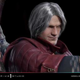 Представлена реалистичная полуразмерная фигурка Данте из Devil May Cry 5, которая будет стоить 4300 долларов