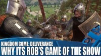 Геймплей Kingdom Come: Deliverance в версии для PlayStation 4