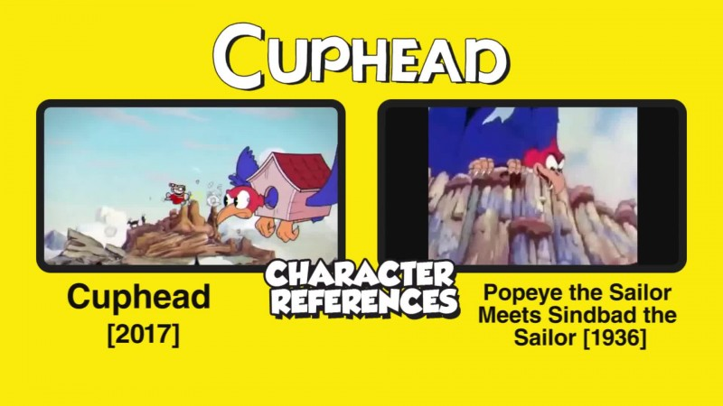 Cuphead: Отсылки к персонажам