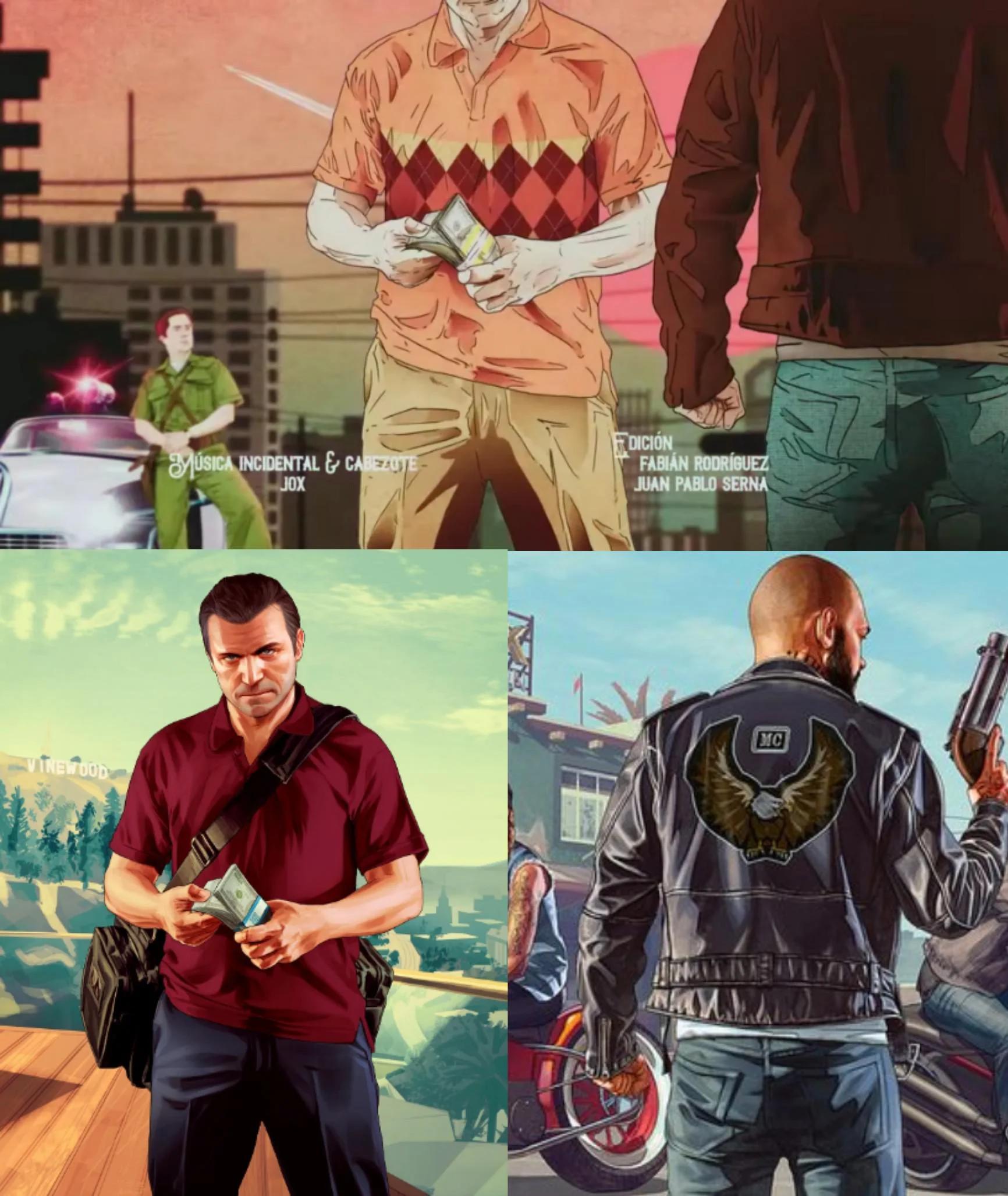 Шоу Netflix обвиняют в краже артов GTA 5