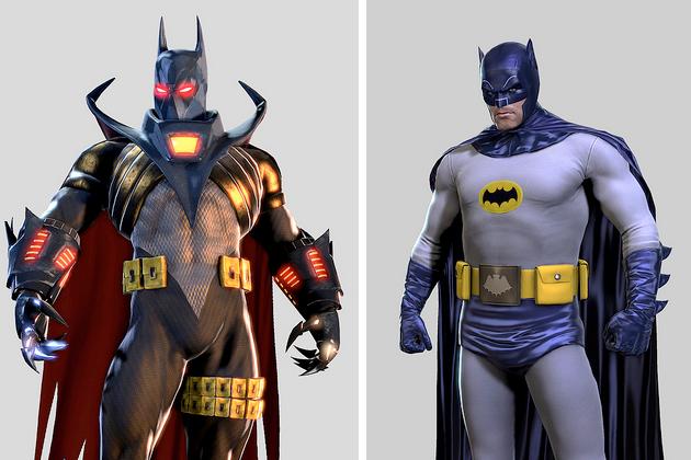 Batman Arkham Origins скины