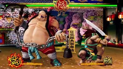 Геймплей за нового бойца в Samurai Shodown