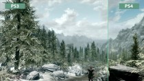 Skyrim - Сравнение графики PS3 Original vs. PS4 Special Edition Remaster (Candyland)