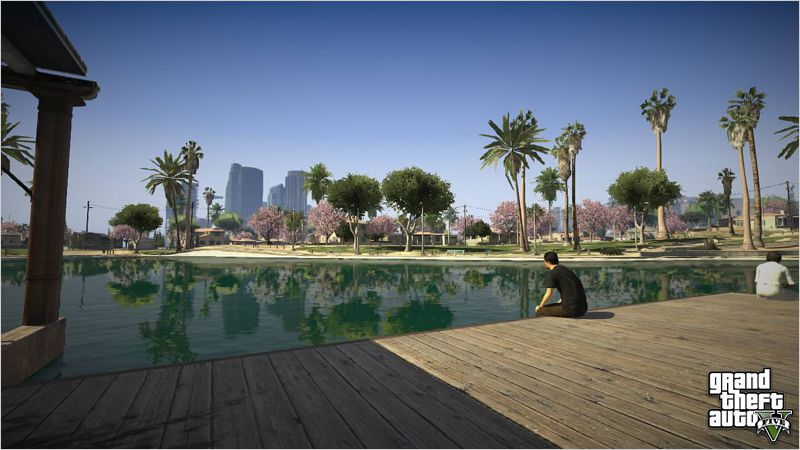Переиздание Grand Theft Auto 5 порадует графоном