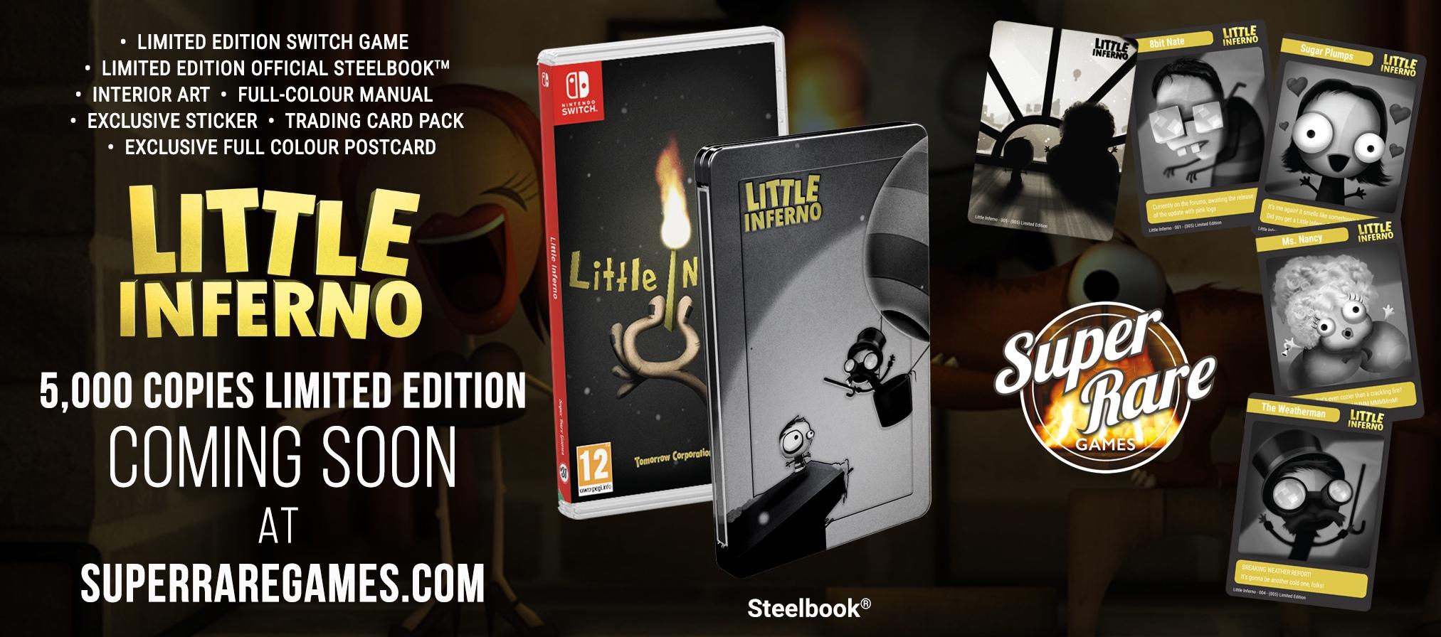 Little Inferno получит ограниченно коллекционные издания для Switch