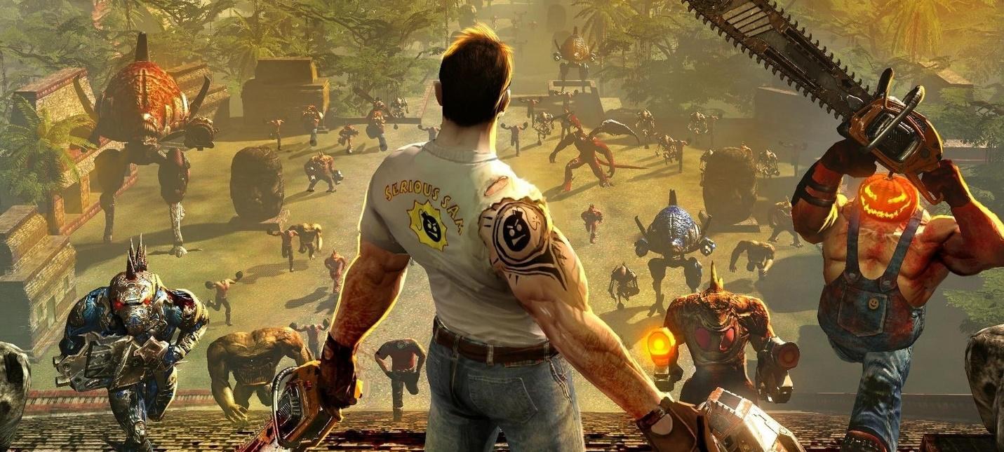 Стало известно, что коллекция Serious Sam на PS4 - Это три игры