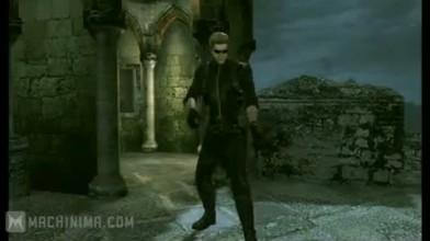 "Resident Evil: The Mercenaries 3D ""Геймплейный трейлер Jill и Wesker"""