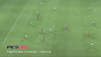 "PES 2012 ""Gameplay Video 08 - Teammate Controls / Manual"""