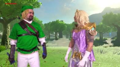Legend of Zelda - Пародийный скетч от Angry Joe