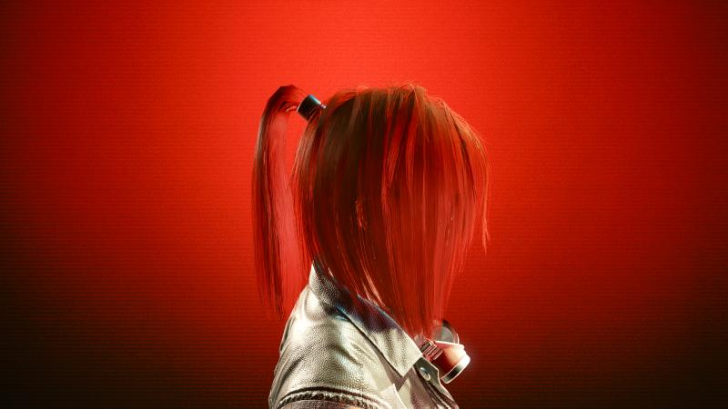 Ginger Strawberry (13 цвет прически в Save Editor)