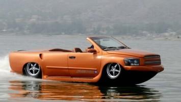 Уникальные концепты водных автомобилей