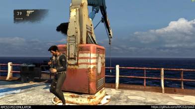 Uncharted Drake's Fortune - пример работы на эмуляторе PS3