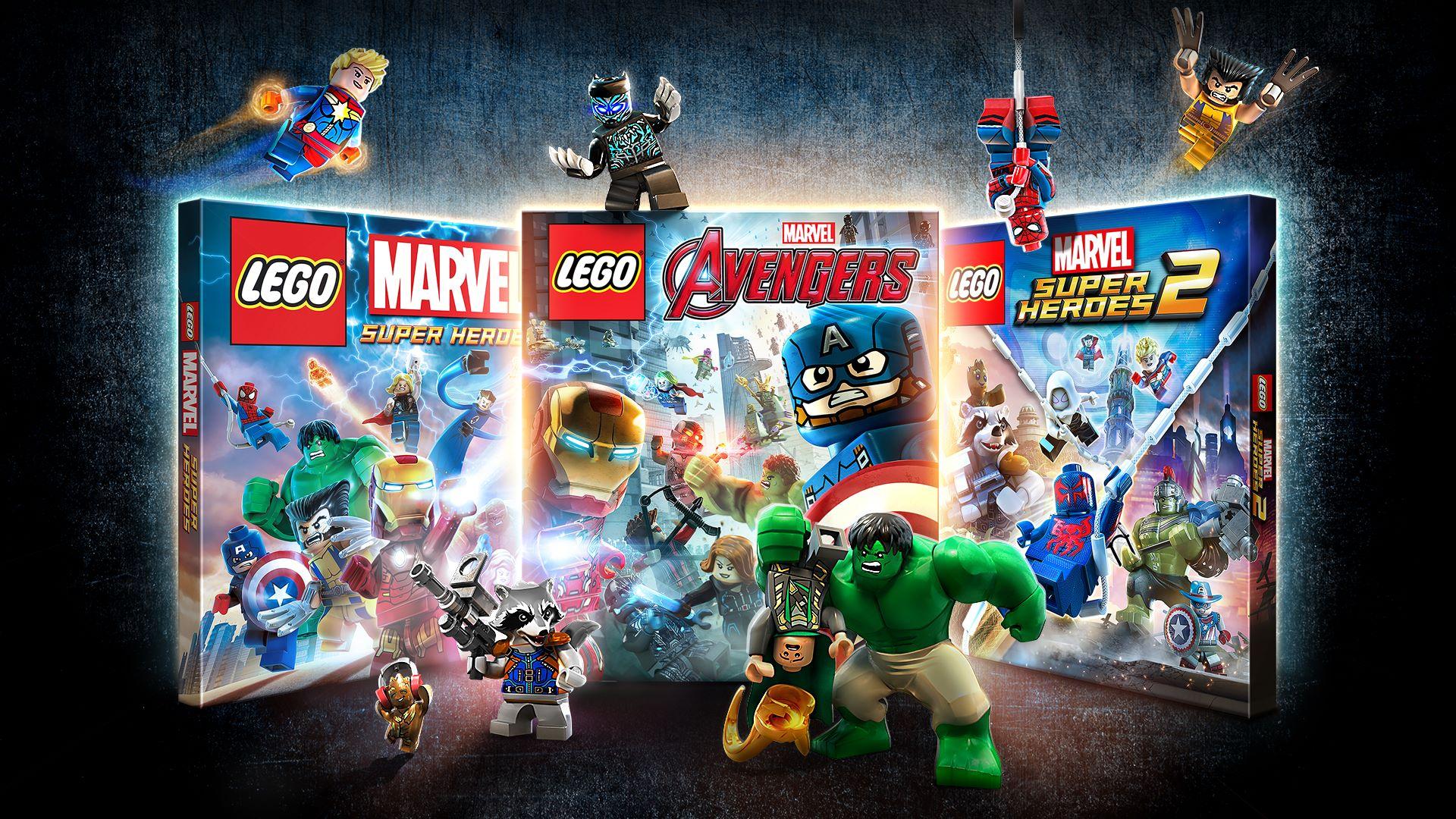 В продаже появилась LEGO Коллекция Marvel