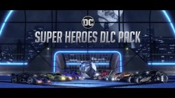Обновление в DC Super Heroes DLC Rocket League