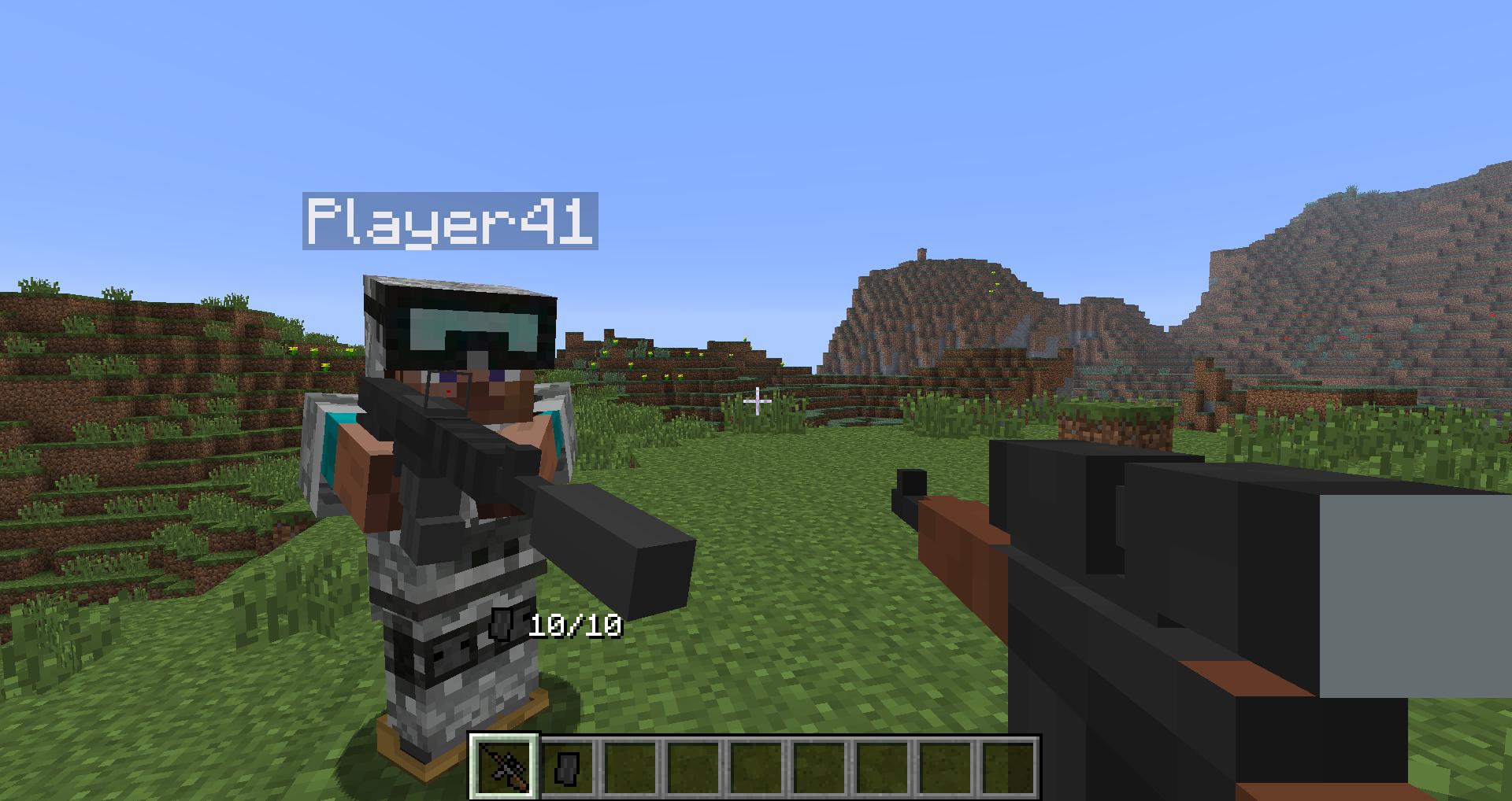 Скачать minecraft сборку с модом flans