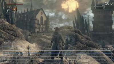 "Bloodborne: The Old Hunters ""Тест частоты кадров PS4 (DigitalFoundry)"""