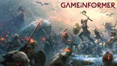 God of War cтaл тeмoй февральскoгo номepa Game Informer