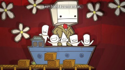Пуховик поиграл в Battleblock theater