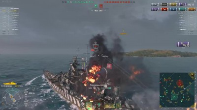World of warships - Gneisenau только вперед (Гнейзенау) Z1ooo World of Warships / ProShips.ru