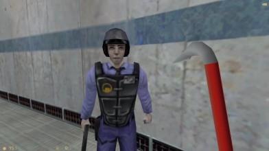 Улучшенные текстуры в Half-Life с помощью нейросети