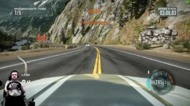 Подъезд к Йосемити BMW M3 E92 GTS Need for Speed: The Run на руле Fanatec Porsche 911 GT2