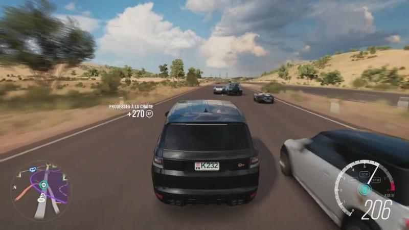 Forza Horizon 3 - Range Rover Sport SVR - ЛУЧШИЙ выхлоп звук?