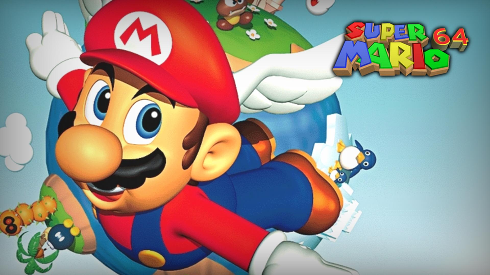 Super Mario Odyssey 64, ромхак Super Mario Odyssey для Super Mario 64, доступен для скачивания