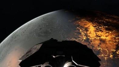 Пролетая над планетами в Infinity: Battlescape