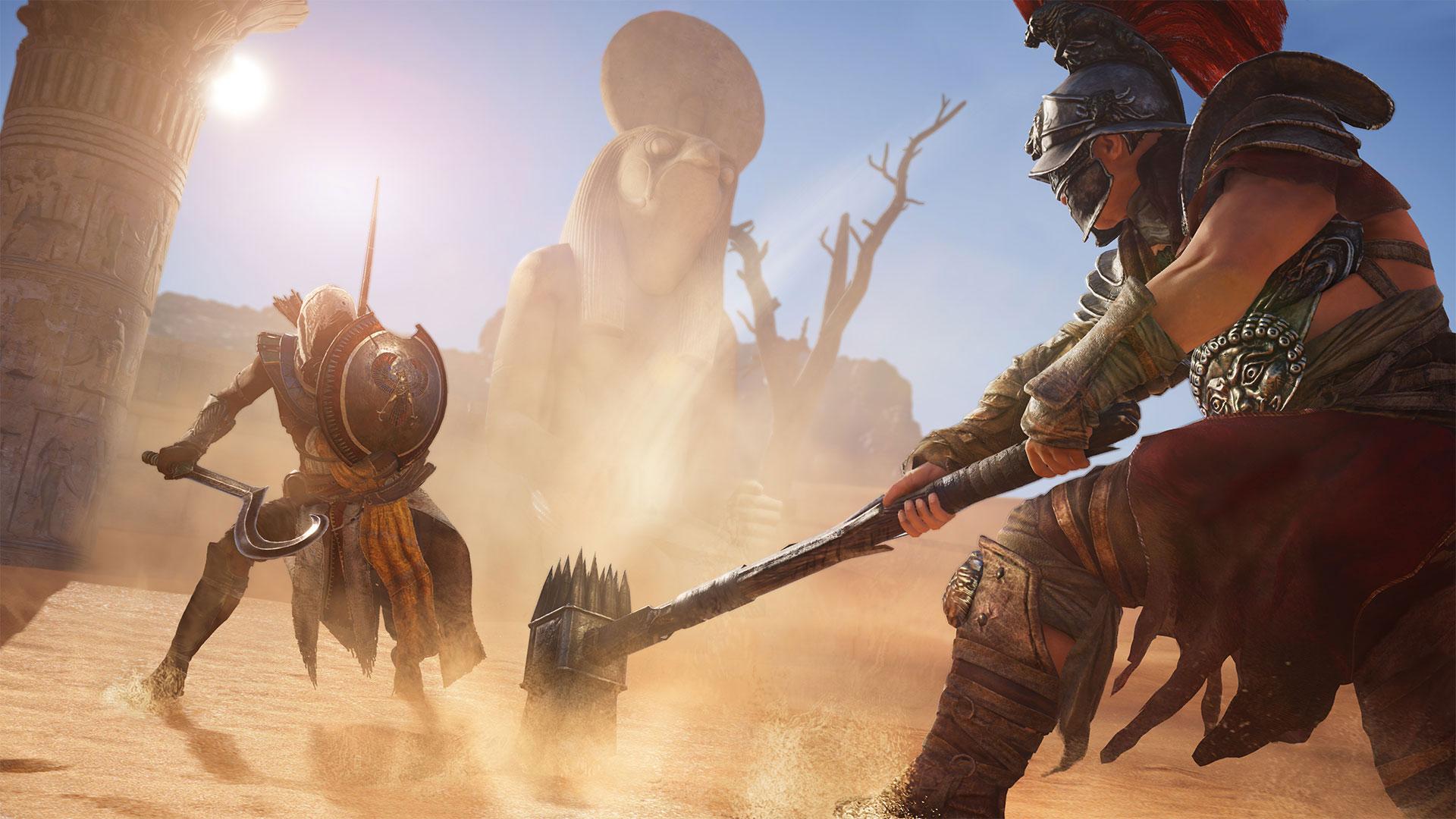 Рецензия Assassin's Creed Origins