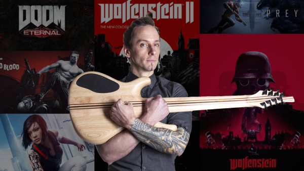 Мик Гордон композитор Doom Eternal показал на стриме создание саундтрека к игре