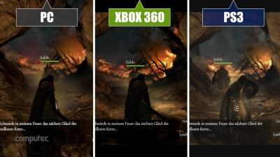 "Dragon's Dogma - Dark Arisen ""Сравнение PC vs PS3 vs Xbox 360"""