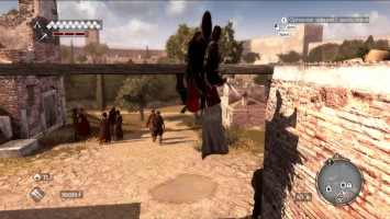 Assassin's Creed: Brotherhood - Прыжок-трюк